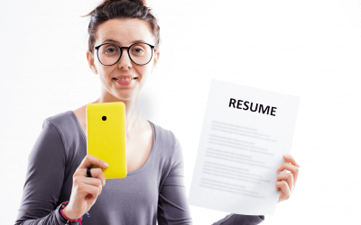How should you make a video resume for an internship?